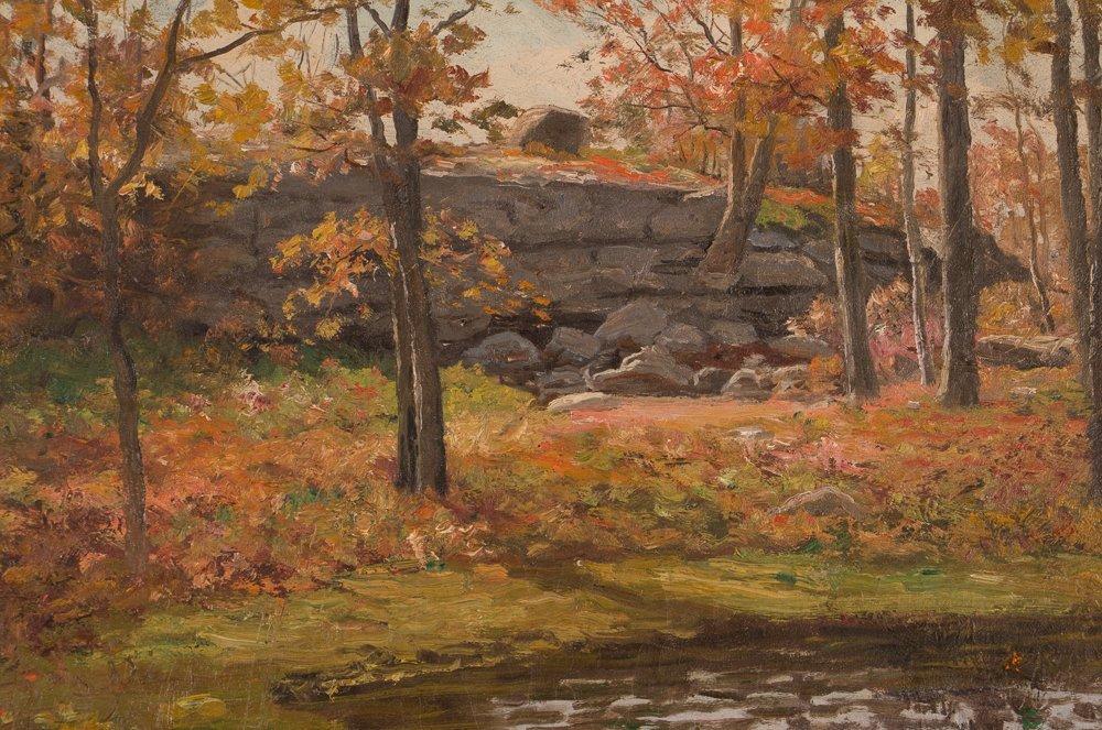 E.A. Poole Fall Landscape - 3