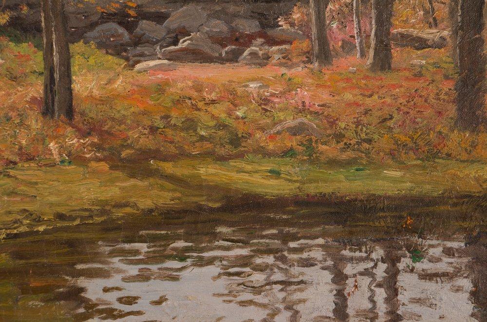 E.A. Poole Fall Landscape - 4