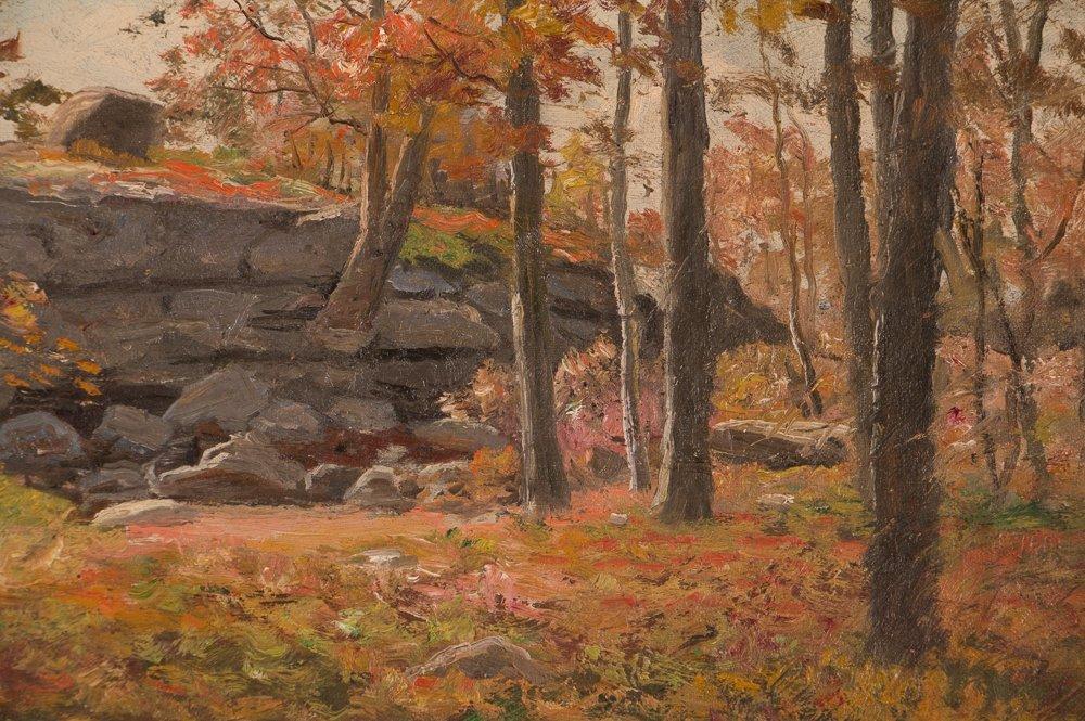 E.A. Poole Fall Landscape - 5
