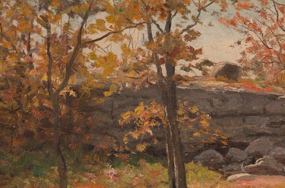 E.A. Poole Fall Landscape - 6