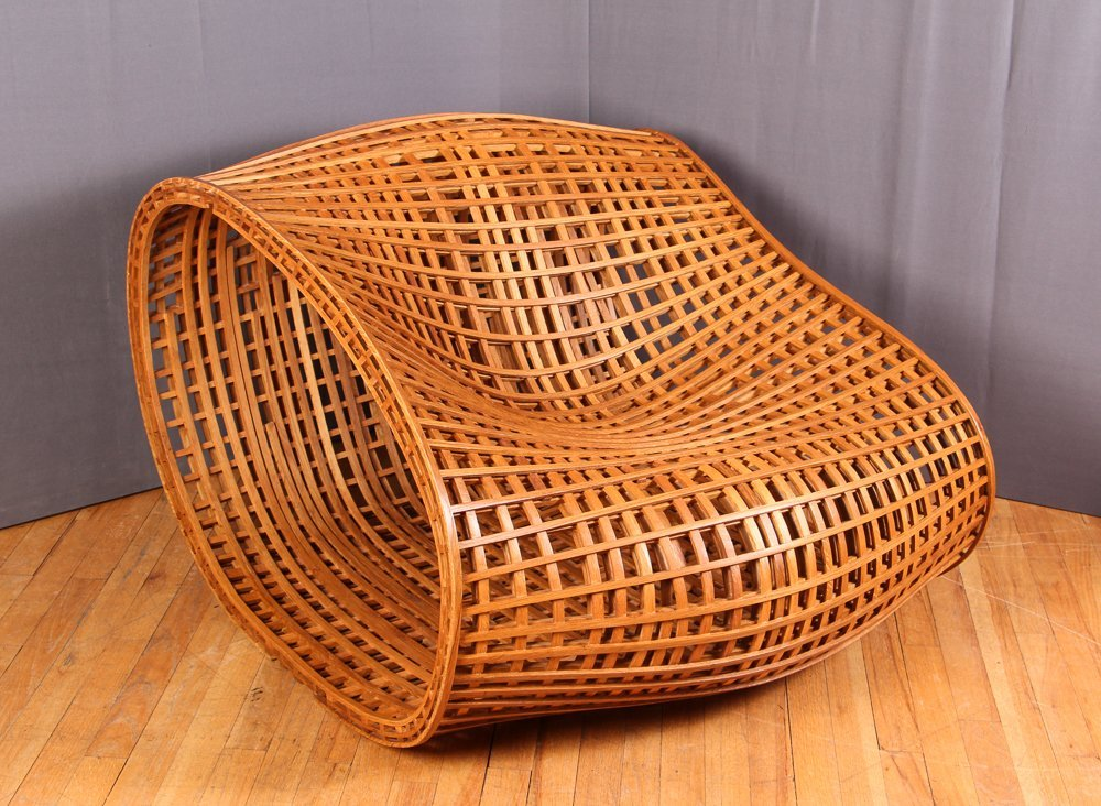 Peter Hedstrom Bentwood Lounge Chair