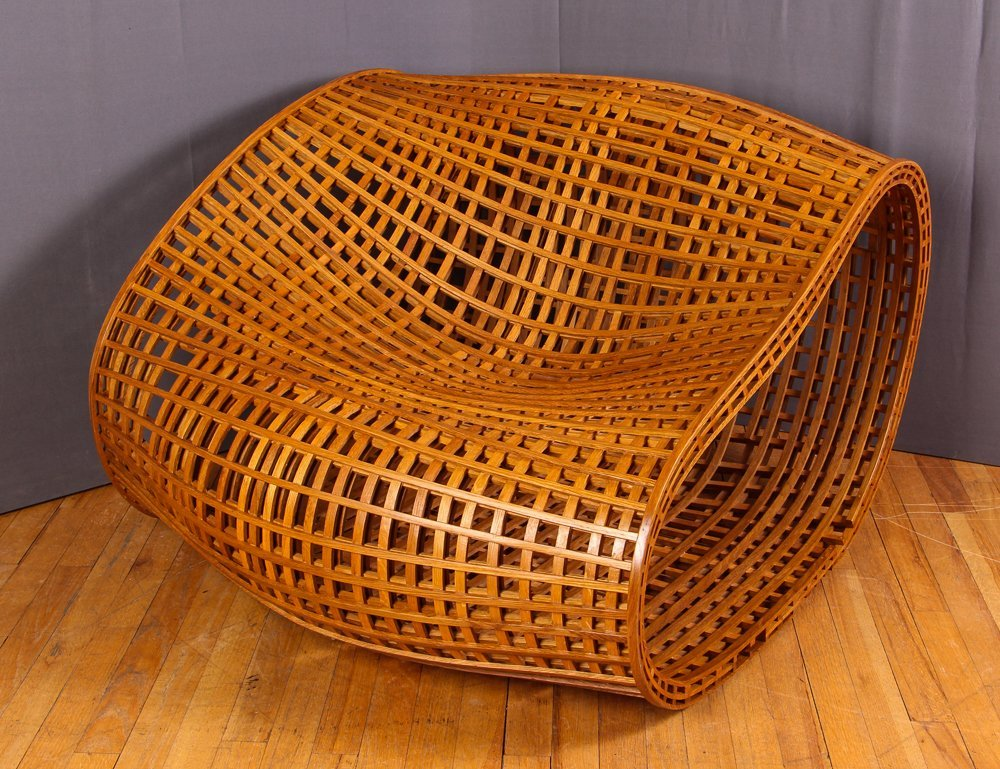 Peter Hedstrom Bentwood Lounge Chair - 2