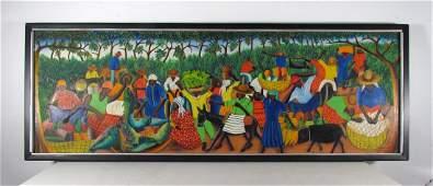 Wilmino Domond Oil Painting Haitian