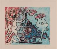 Roberto Matta Untitled Etching and Aquatint 1984