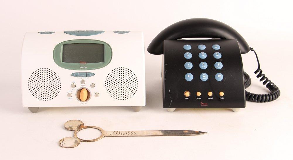 Michael Graves Phone & Alarm Clock + Disney Swid Powell - 2