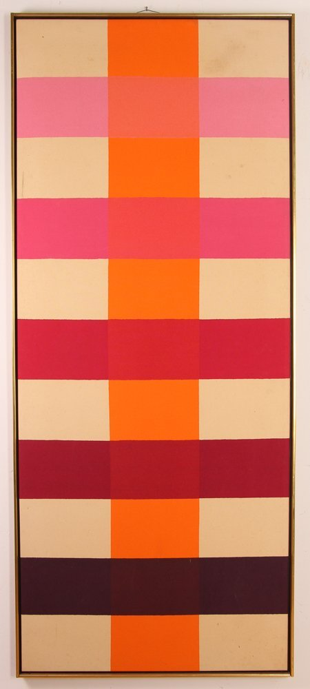 Paul Allen Reed 1966 painting Coherence IV