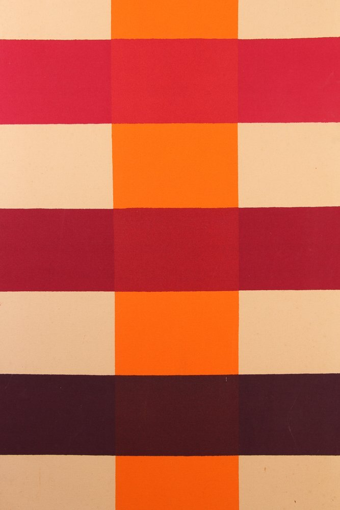 Paul Allen Reed 1966 painting Coherence IV - 2