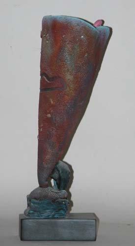 474: Untitled Funnel Sculpture Ceramic