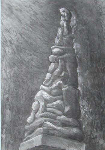 487: Study for Holocaust Memorial: Jerry Caplan