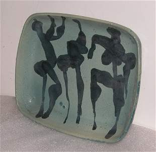 Platter after Picasso: Jerry Caplan