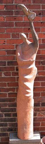 568: Tall Biomorphic Form: Jerry Caplan