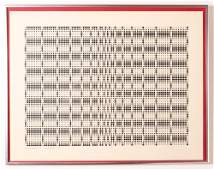 Don Solow 1973 drawing 4 Dot Study No 1