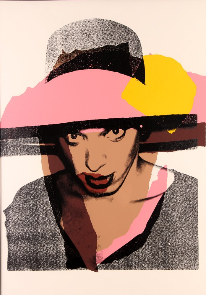 """Andy Warhol """"Ladies and Gentleman"""" Hand-signed"""