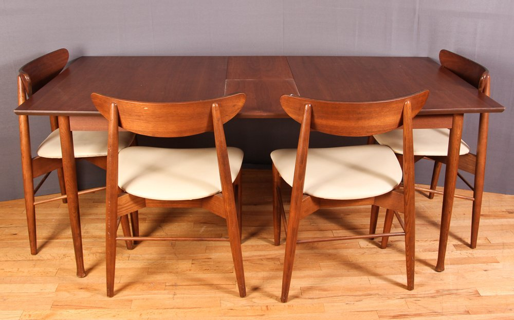 Drexel Dining Room Furniture 1960 Part   16: Pierre Debs For Stanley Modern Dining  Table Part 40