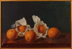 """A. F. King ptg. """"Oranges Wrapped in Paper"""""""