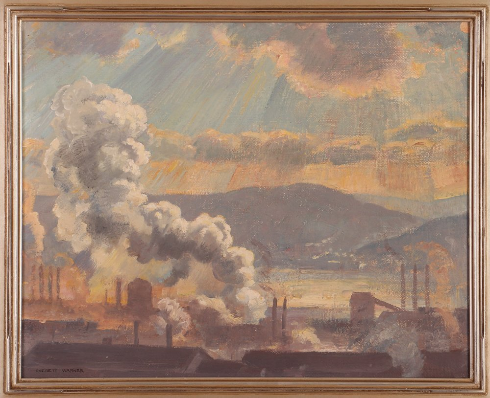 "Everett Warner ""Steelmaking Along the Mon"""