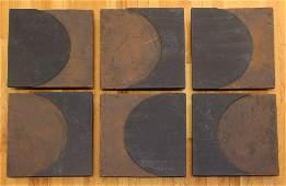 Studio Ceramic 6 tile relief