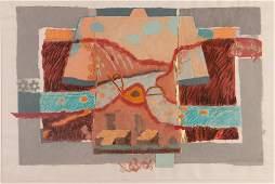 Donna Hollen-Bolmgren Kimono City: Back View handmade