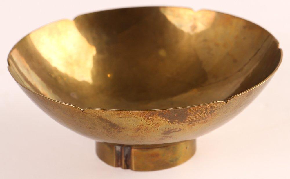 Dirk Van Erp Hand Wrought Bowl