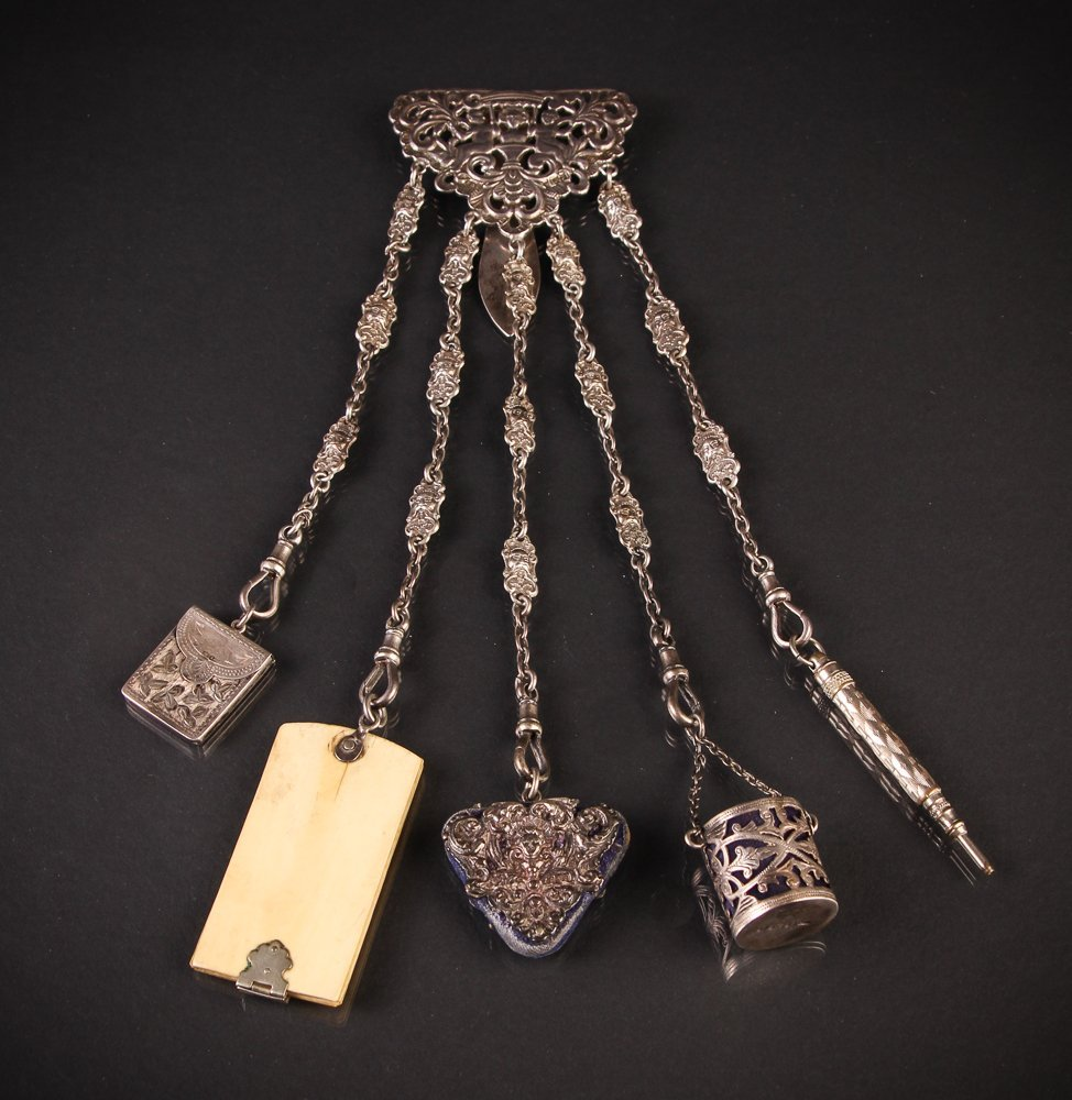 Sterling English Chatelaine