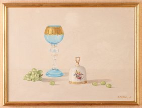 Harold Paul Murray 1965 Still Life Painting