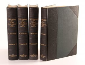 Four Volumes Of Pittsburgh Of Today