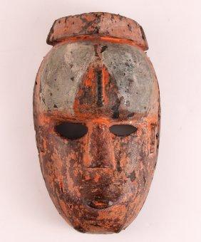 Ibo Polychromed Dance Mask
