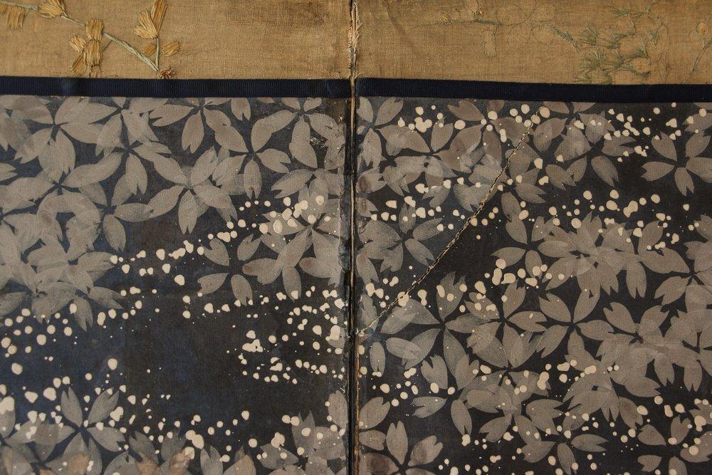 "6 Panel Japanese Folding Screen ""tagasode - byobu"" - 7"