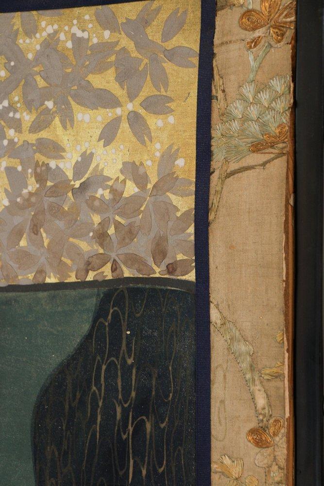 "6 Panel Japanese Folding Screen ""tagasode - byobu"" - 8"