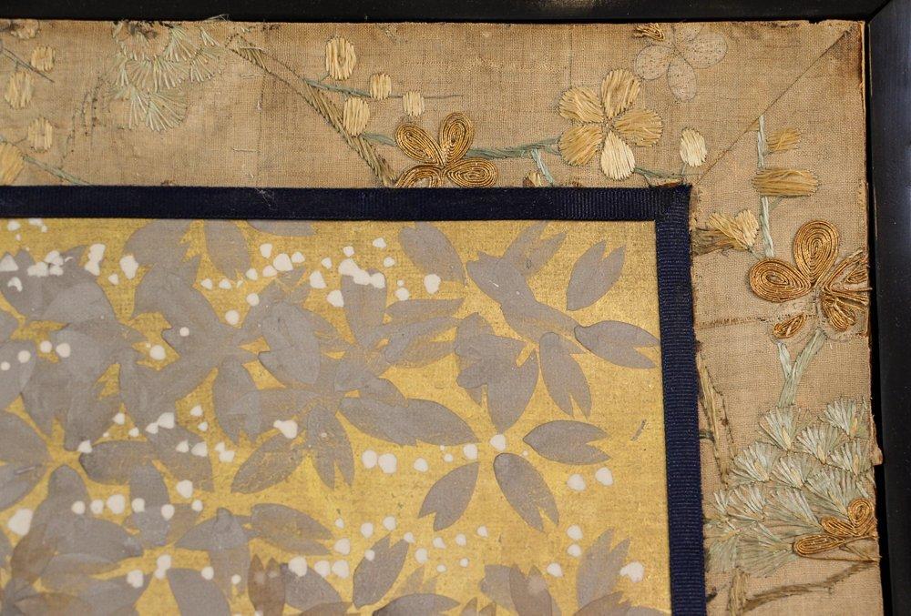 "6 Panel Japanese Folding Screen ""tagasode - byobu"" - 9"