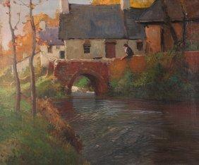 George Ames Aldrich New Hope School Painting
