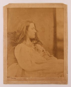 "Julia Margaret Cameron ""portrait Of Mary Ryan Cotton"""