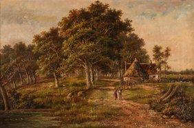 Hendrik Koekkoek Landscape Painting