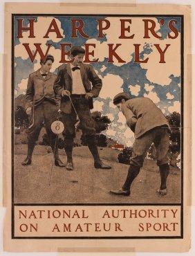 Maxfield Parrish Harper's Weekly Magazine Poster