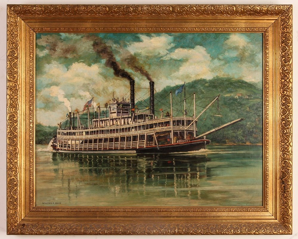 """William Reed """"The Stern Wheel River Boat, Virginia"""" - 2"""