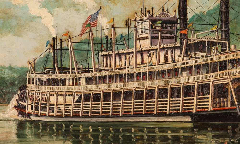 """William Reed """"The Stern Wheel River Boat, Virginia"""" - 4"""