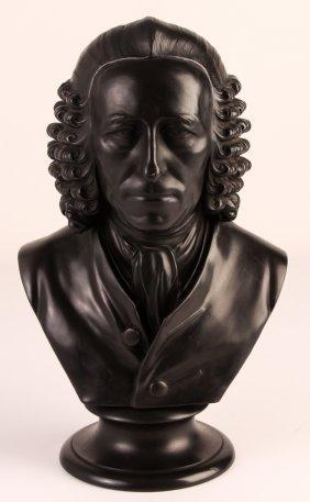 Wedgwood Dr. John Fothergill Basalt Bust