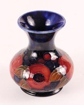 Moorcroft Pottery Pomegranate Vase