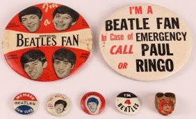 Miscellaneous Lot Of Beatles Memorabilia