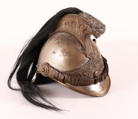 French Late Napoleonic Cavalry Soldier Helmet