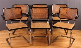 6 - B32 Chair Designed By Marcel Breuer For Thonet