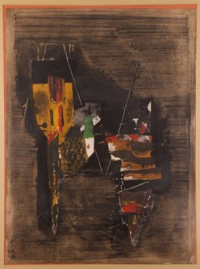 "Johnny Friedlaender ""abstract Color Etching"""