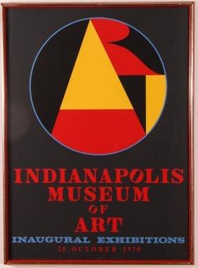 Robert Indiana 1970 Indianapolis Museum Inaugural