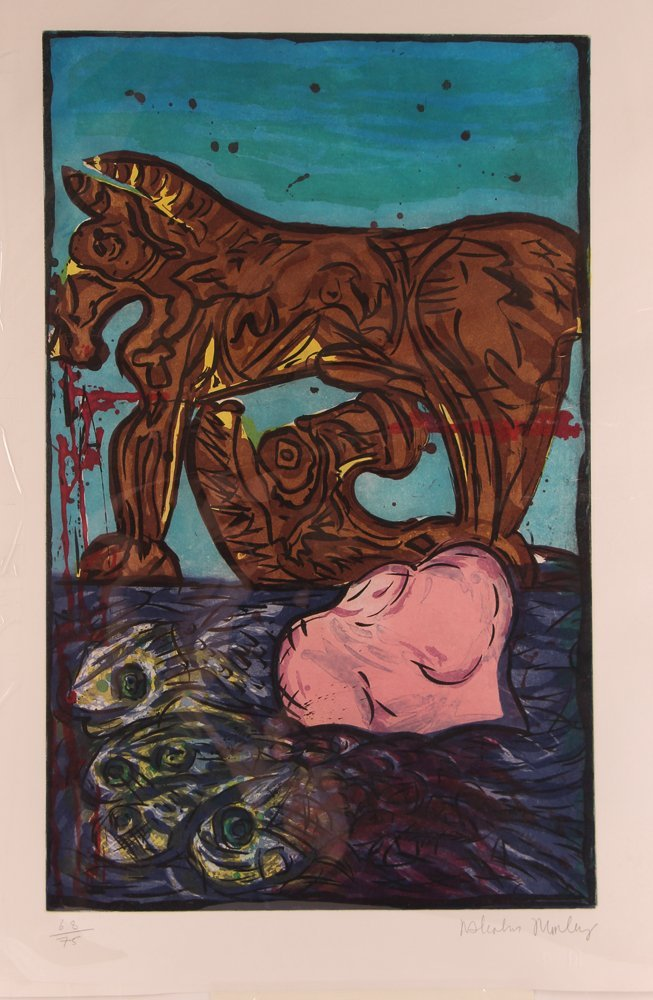 Malcolm Morley Trojan Horse from Fallacies of Enoch