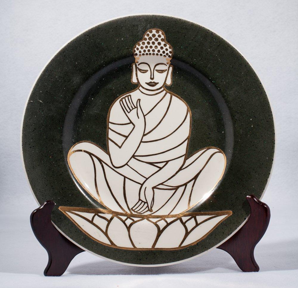 Wayland Gregory Buddha Plate