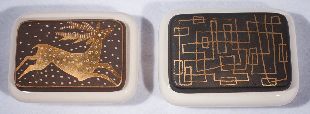 Pair Wayland Gregory Boxes