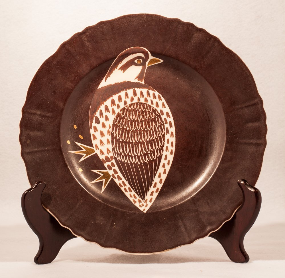 Wayland Gregory Partridge Plate