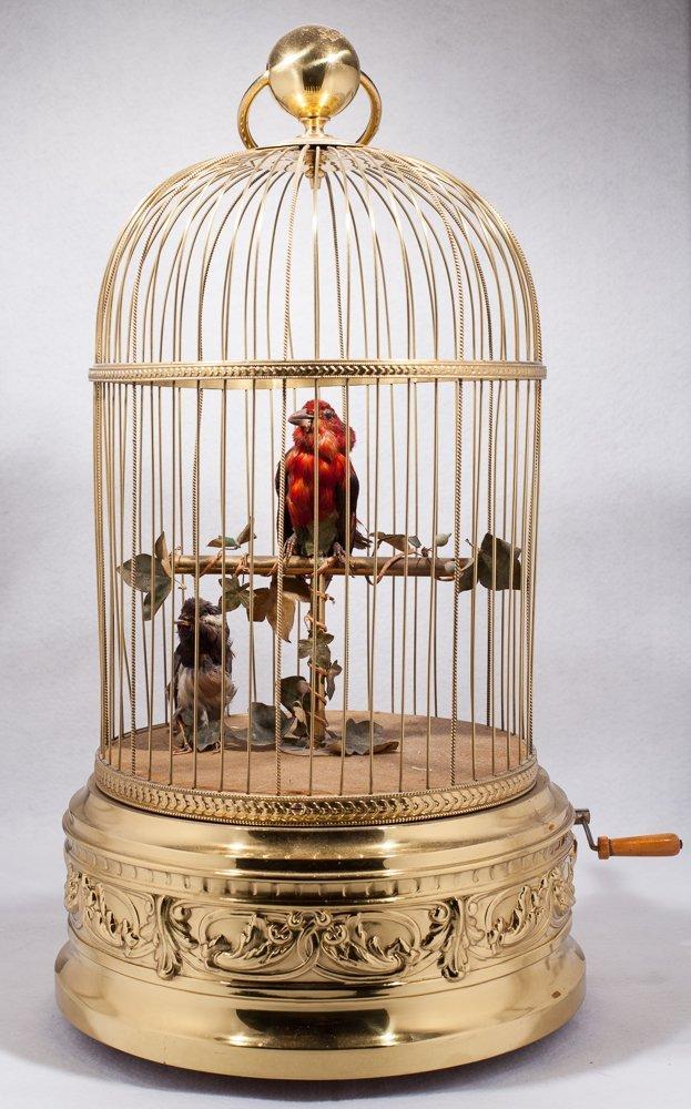 Automaton Bird Cage