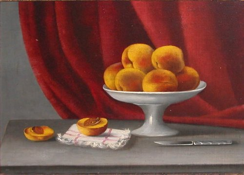 1: 19th Century American Still Life with Peaches