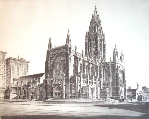 11: John Taylor Arms etching Gothic Magic 1941